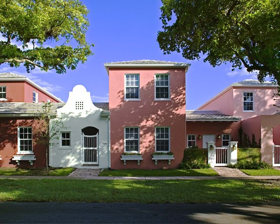 Award-winning Bermuda Village in Coral Gables, Fl designed by world-famous Arquitectonica.