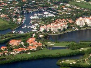 Deering Bay Yacht & Country Club world-class deep water marina and golf course.