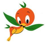 orangey face